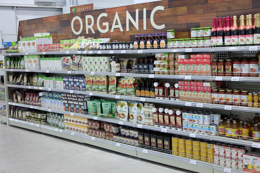 I was actually drawn to this aisle. #organic