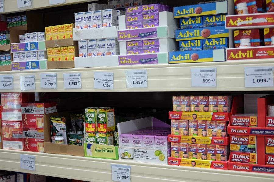 Medicines too.