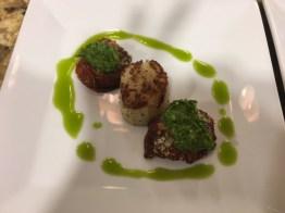 Braised Scallops, Culinary Class