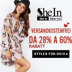 SheIn -Your Online Fashion Print Dress