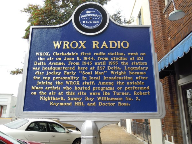 FIRST RADIO STATION in Clarksdale, Ms~