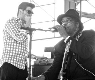 Bob Corritore & Hubert Sumlin
