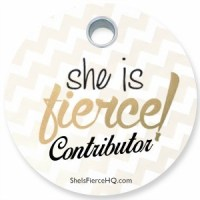 She Is Fierce! Contributor Tag