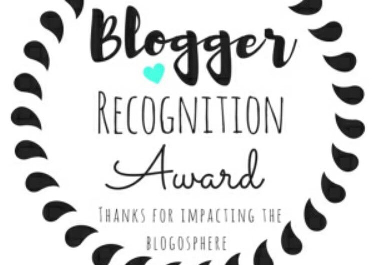 Your girl just received the Bloggers Recognition Award!!!
