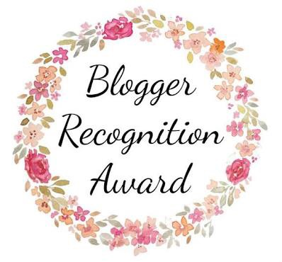 The Bloggers recognition award - Sheisnaturallybronze
