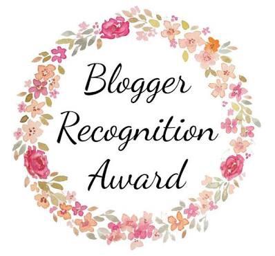 The Bloggers recognition award - Sheisnaturallybronze