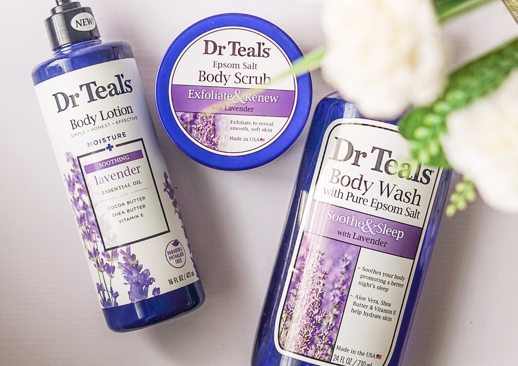 Stay hydrated with Dr Teal's Pure Epsom Salt body care*