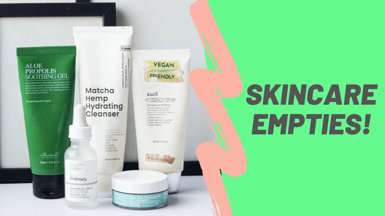 Skincare empties | Loved and Repurchased!
