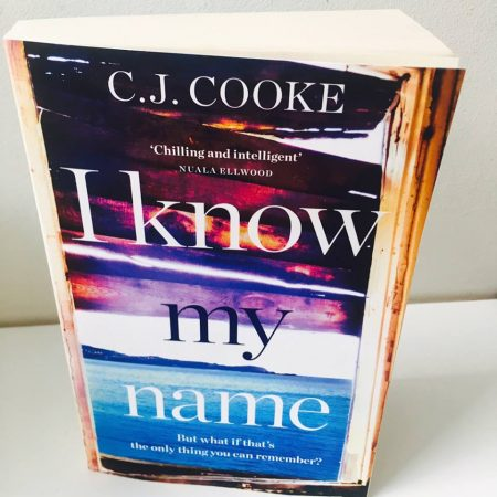 Book Review: I Know my Name by C.J. Cooke