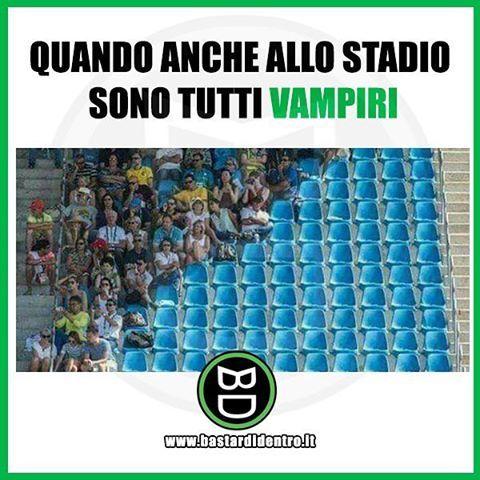 Vampiri… allo stadio