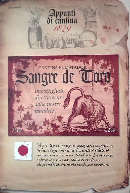 Viticoltura vampirica: sangre de toro!