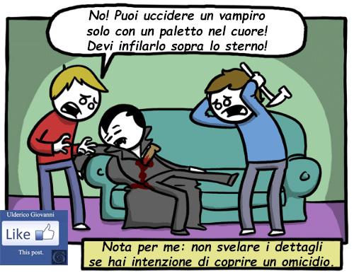 Se devi uccidere un vampiro…