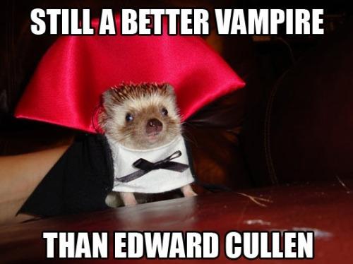 Still better a vampire