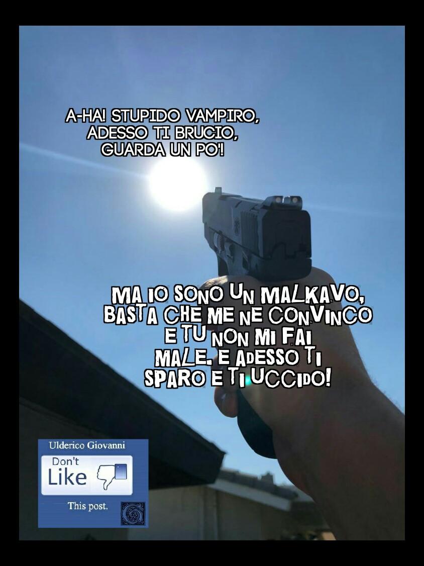 I Malkavian e il sole