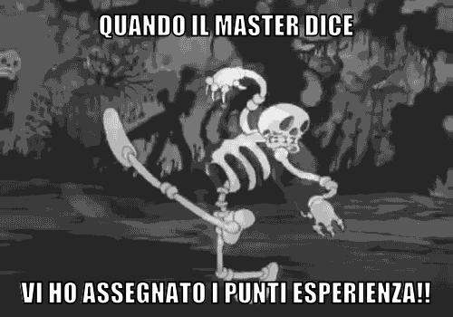 Quando il master dice…