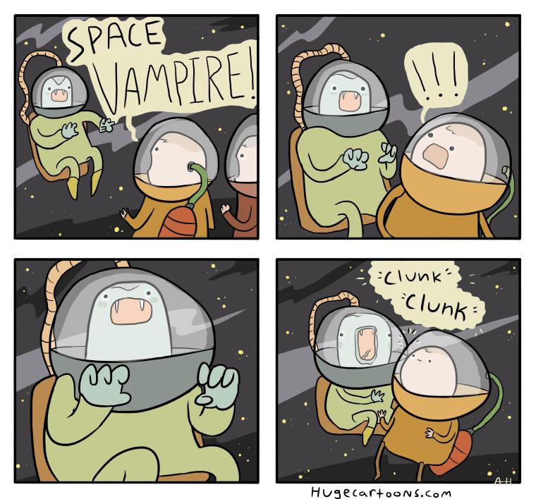 Vampiri nello spazio?