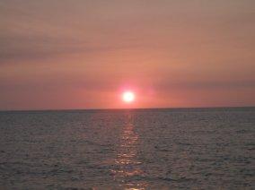 chasing sunset