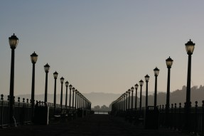San Fran Pier Copyright Shelagh Donnelly