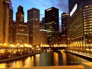 Chicago Dusk Copyright Shelagh Donnelly