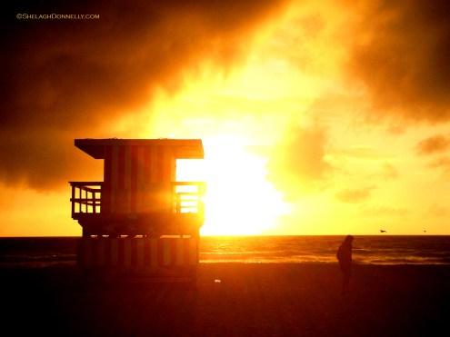 Miami Beach Sunrise 5124 Copyright Shelagh Donnelly