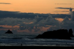 Cannon Beach Sunset 6565 Copyright Shelagh Donnelly