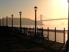 San Fran Sunrise Copyright Shelagh Donnelly