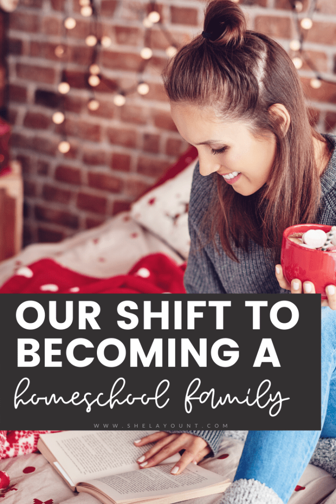 Everyone has their reasons for shifting into becoming a homeschool family. Here are the truths that lead us to that decision and why we're excited about it.
