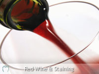 Red Wine Staining