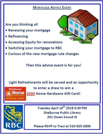 The Community Of Shelburne Receives Special Invite To