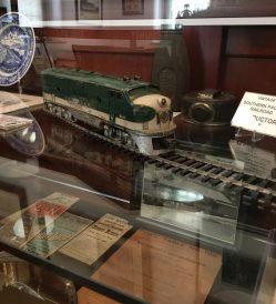 Model Train From Museum's Railroad Collection