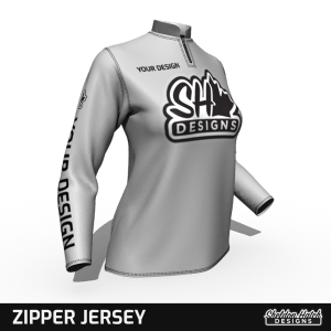 Womens Zip Custom Jersey