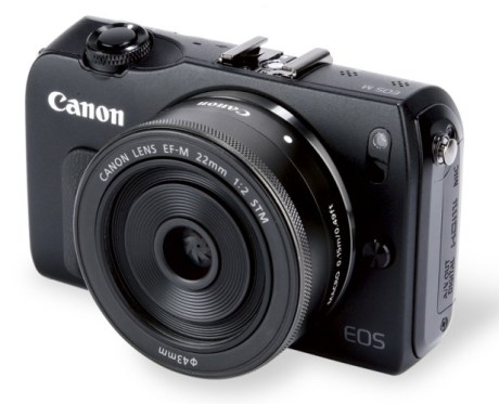 Front View of Canon EOS M