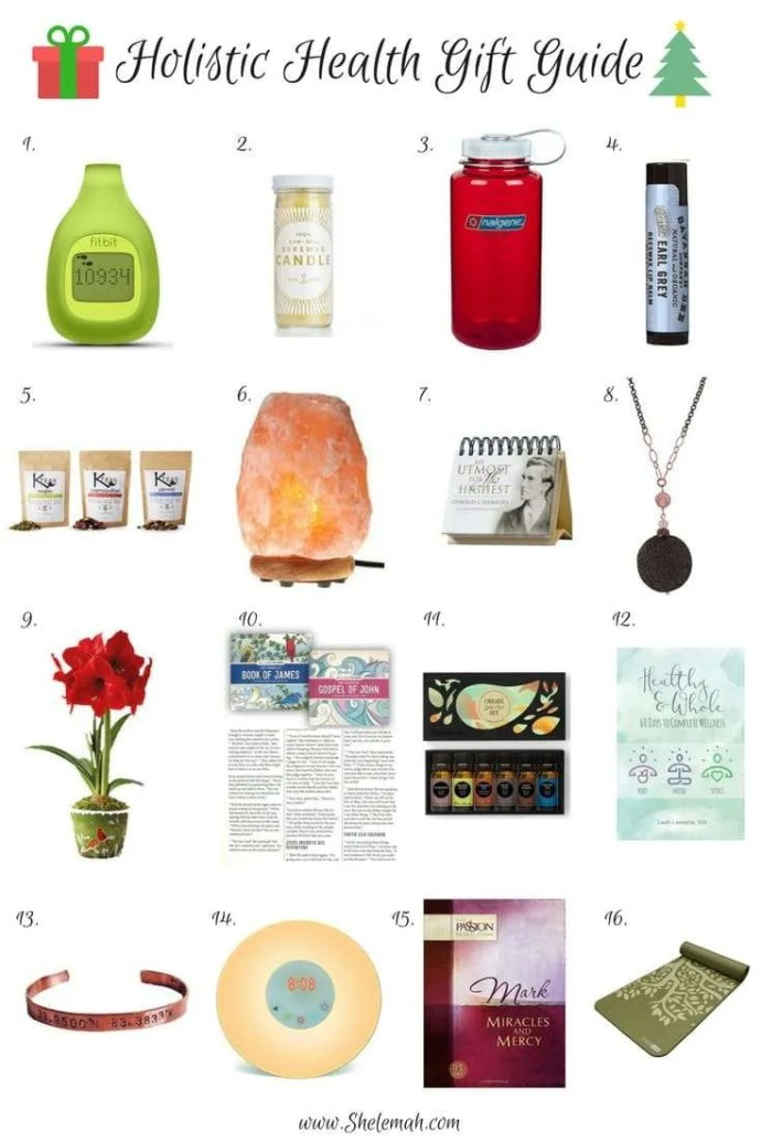 2016 Crunchy Christian holistic health gift guide #giftguide #crunchychristian