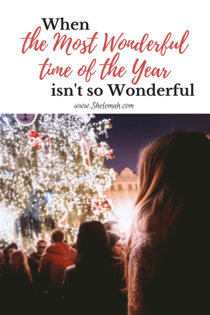 The most wonderful time of the year isn't so wonderful for everyone. Hope for those who mourn and are in pain at #Christmas.