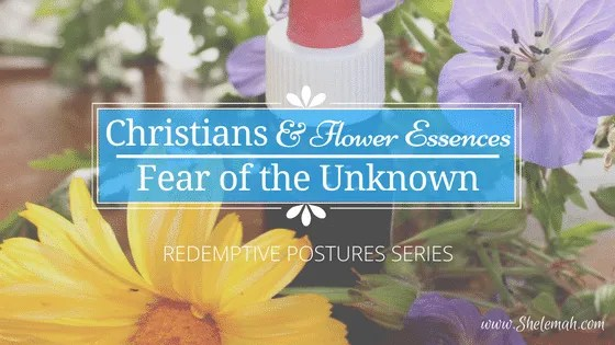 Christians tend to be fearful of the unknown. Learn about flower essences and why there is no reason to be afraid