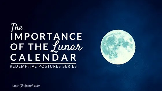 The importance of the lunar calendar