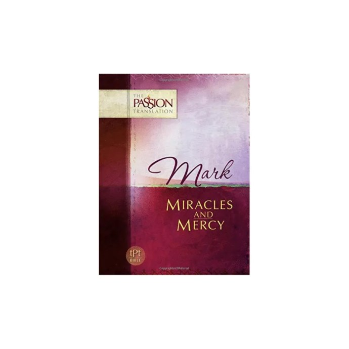 Passion Translation Book of Mark
