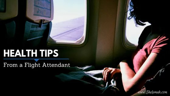 Health tips from a flight attendant | Learn from the expert how to stay healthy as a frequent flyer.
