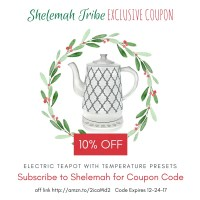 Exclusive coupon for Shelemah Tribe members!