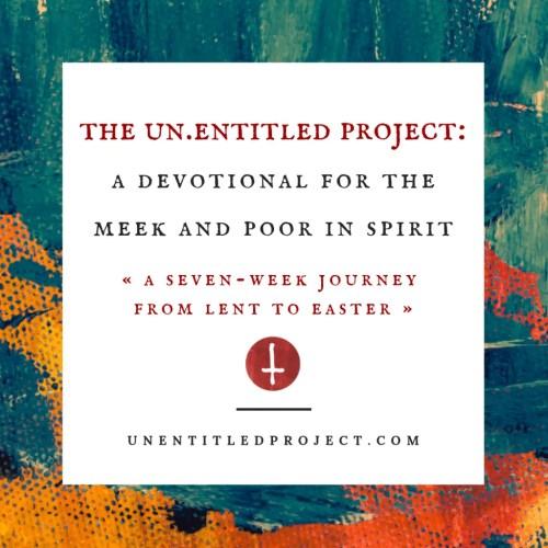 unentitled project lent devotional