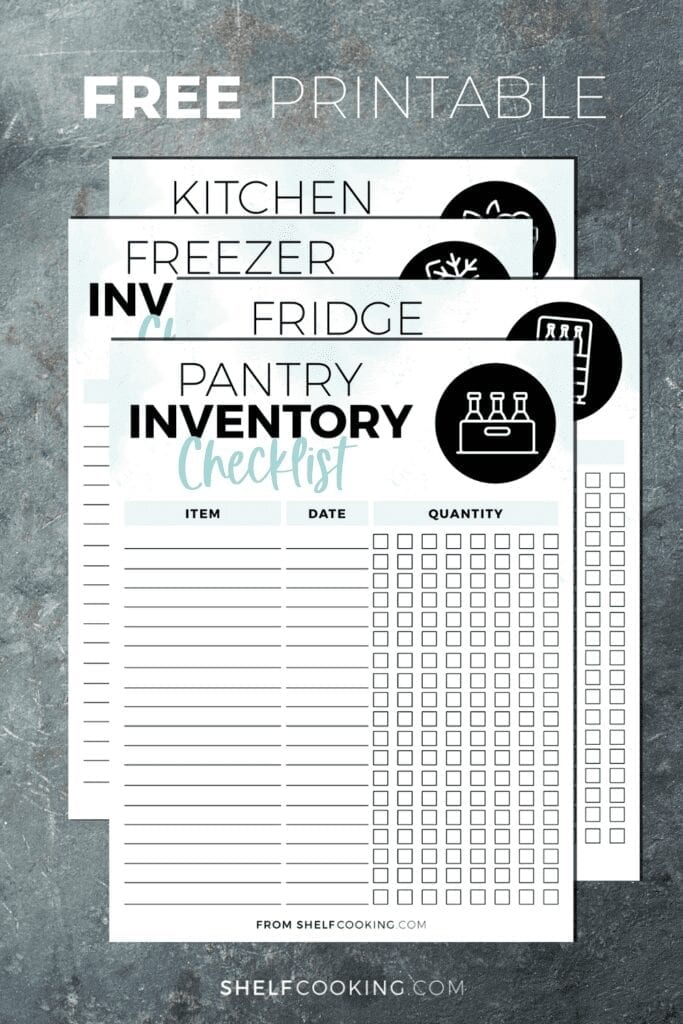 These essential organizational tips will help you get the most out of your freezer. Kitchen Inventory How To Keep Track Of Your Food Shelf Cooking