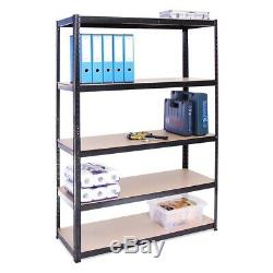 5 couche rack heavy metal autoportant accueil garage duty etageres rayonnage