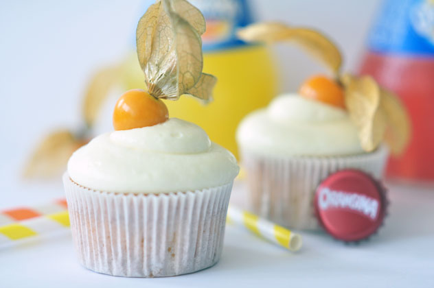 Orangina Cupcakes