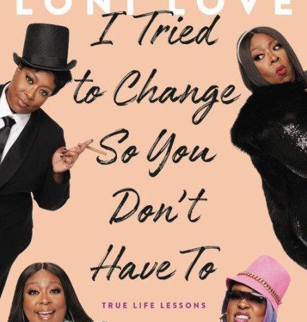 Loni Love announces 2nd book