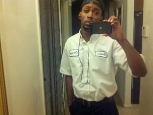 First Day in Uniform Selfie