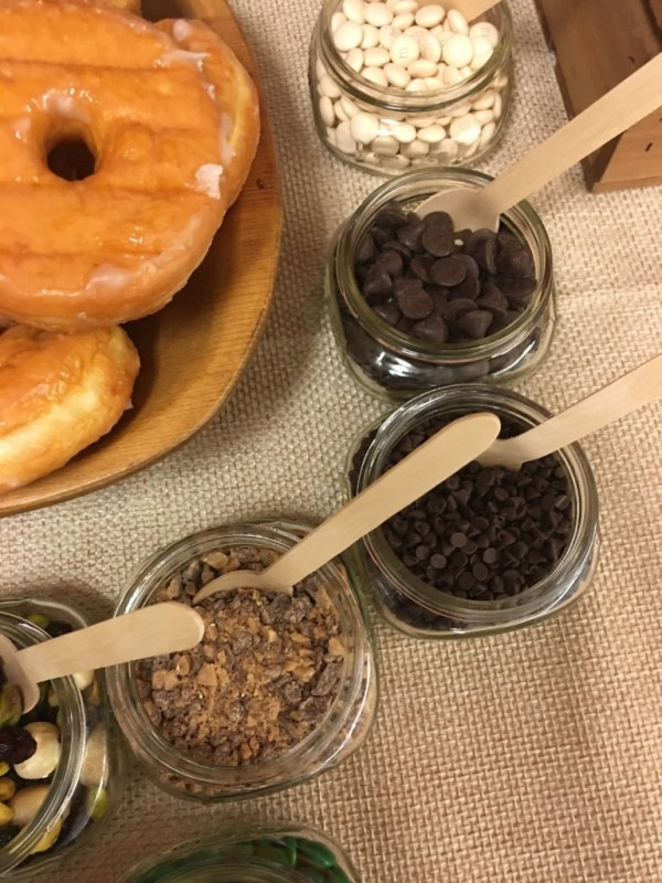 New Beginnings Press Forward With A Steadfastness in Christ doughnut bar