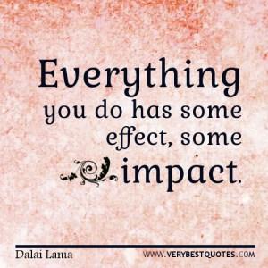 Impact quote