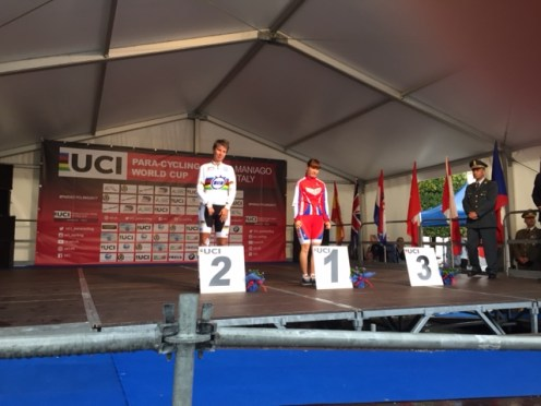 May 2017 Time Trial in Maniago Italy at World Cup 1