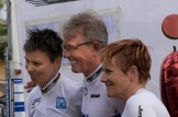 Germany Time Trial - T2 Male and Female World Champions with T1 World Champion (me) I proudly won the silver medal!