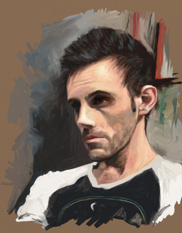 portrait challenge paintings day 27